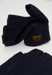 Carhartt WIP - MILITARY MITTEN UNISEX - Fingerless gloves - dark navy - 3