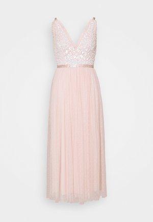 AURELIA BODICE CAMI BALLERINA DRESS - Společenské šaty - strawberry icing