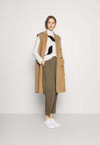 Bruuns Bazaar - PARI DAGNY - Trousers - earth brown - 1