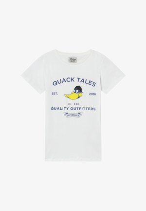 QUACK TALES - Triko spotiskem - weiß