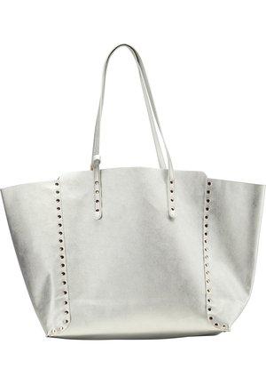 SHOPPER - Handbag - silber metallic