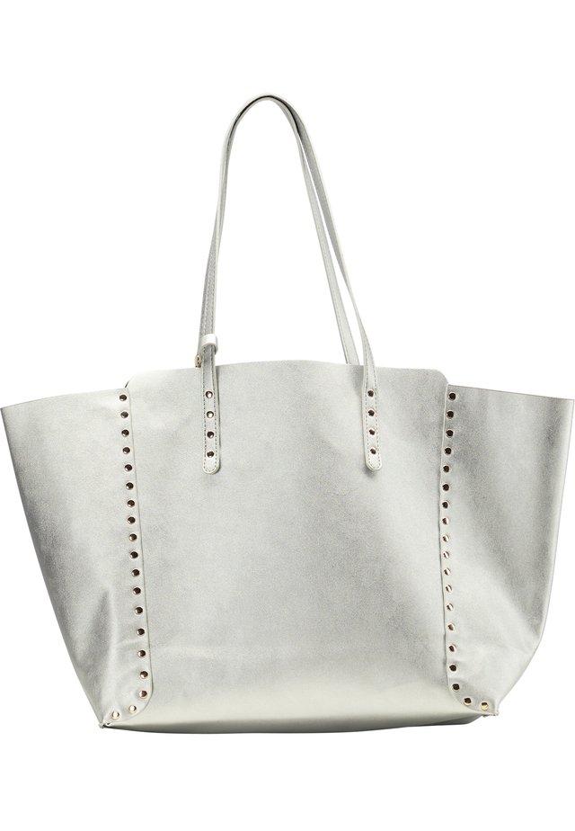 SHOPPER - Handtas - silber metallic