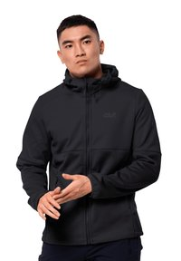 Jack Wolfskin - Soft shell jacket - black - 0