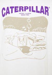 Caterpillar - SNOW GRAPHIC - T-shirt con stampa - cream - 2