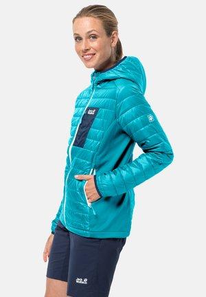 Winter jacket - dark aqua
