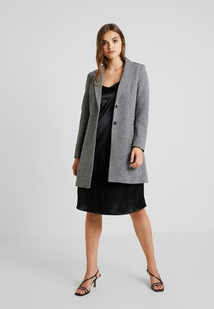 LINDA - Short coat - medium grey melange