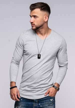 INFINITY  - Long sleeved top - light grey melange