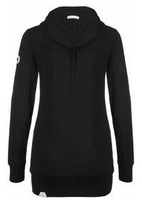 Ragwear - ABBIE - Zip-up sweatshirt - black - 1