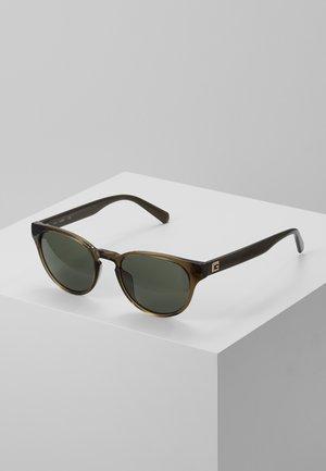 Sunglasses - light brown/green