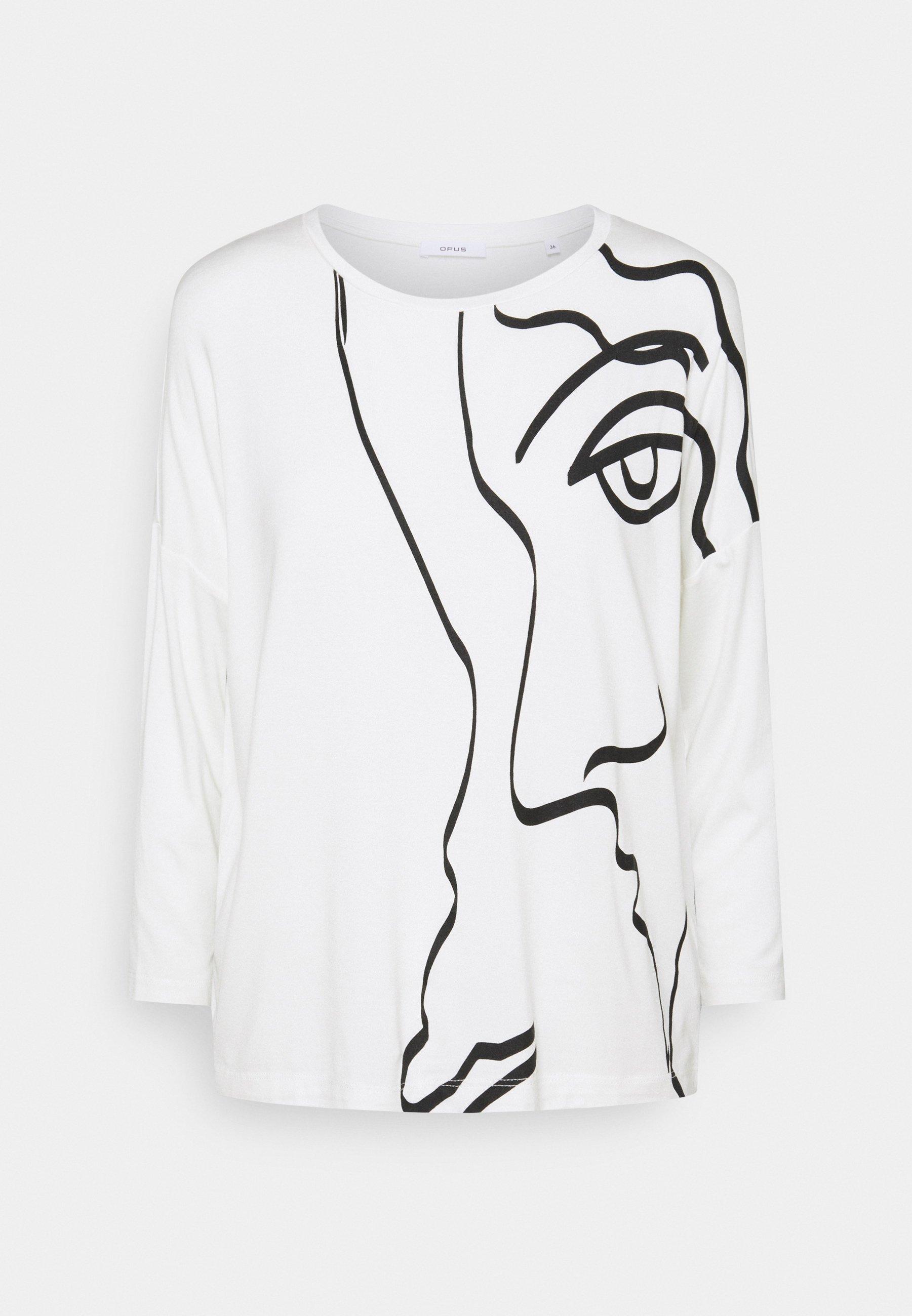 Women SICASO PRINT - Long sleeved top