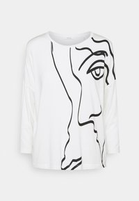 Opus - SICASO PRINT - Long sleeved top - milk - 0