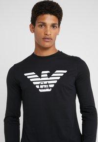 Emporio Armani - T-shirt à manches longues - nero - 4