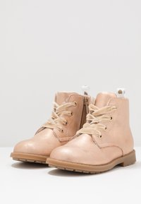 Friboo - Bottines à lacets - rose gold - 3