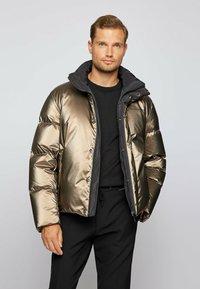 BOSS - DANRO_PS - Down jacket - brown - 0