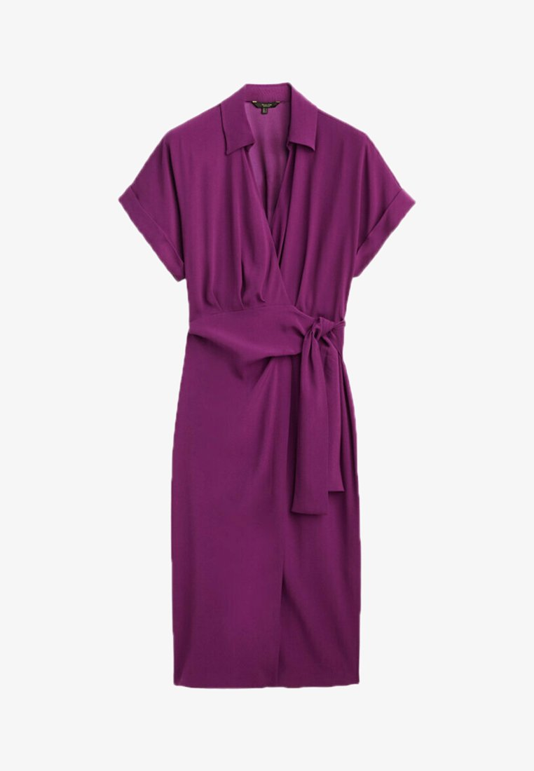 Massimo Dutti - Day dress - dark purple