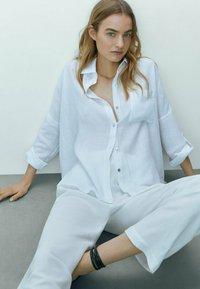 Massimo Dutti - Skjorta - white - 2