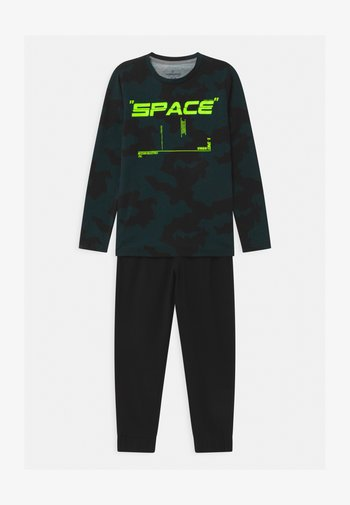WARDI SET - Pyjama set - deep black