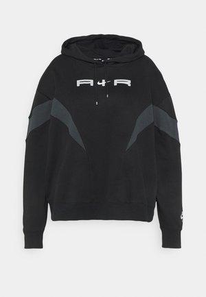 AIR HOODIE PLUS - Sweatshirt - black
