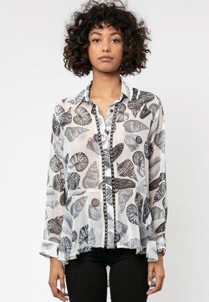 SILENCE - Button-down blouse - black