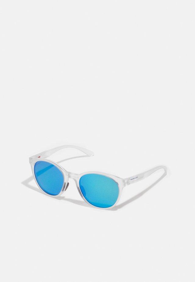 SPINDRIFT UNISEX - Sonnenbrille - matte clear/sapphire