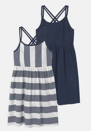 2 PACK - Jersey dress - dress blues