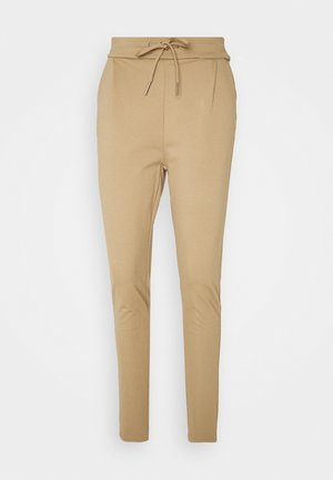 VMEVA LOOSE STRING PANTS  - Tracksuit bottoms - sepia tint