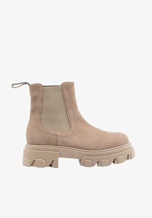 Ankle boot - beige