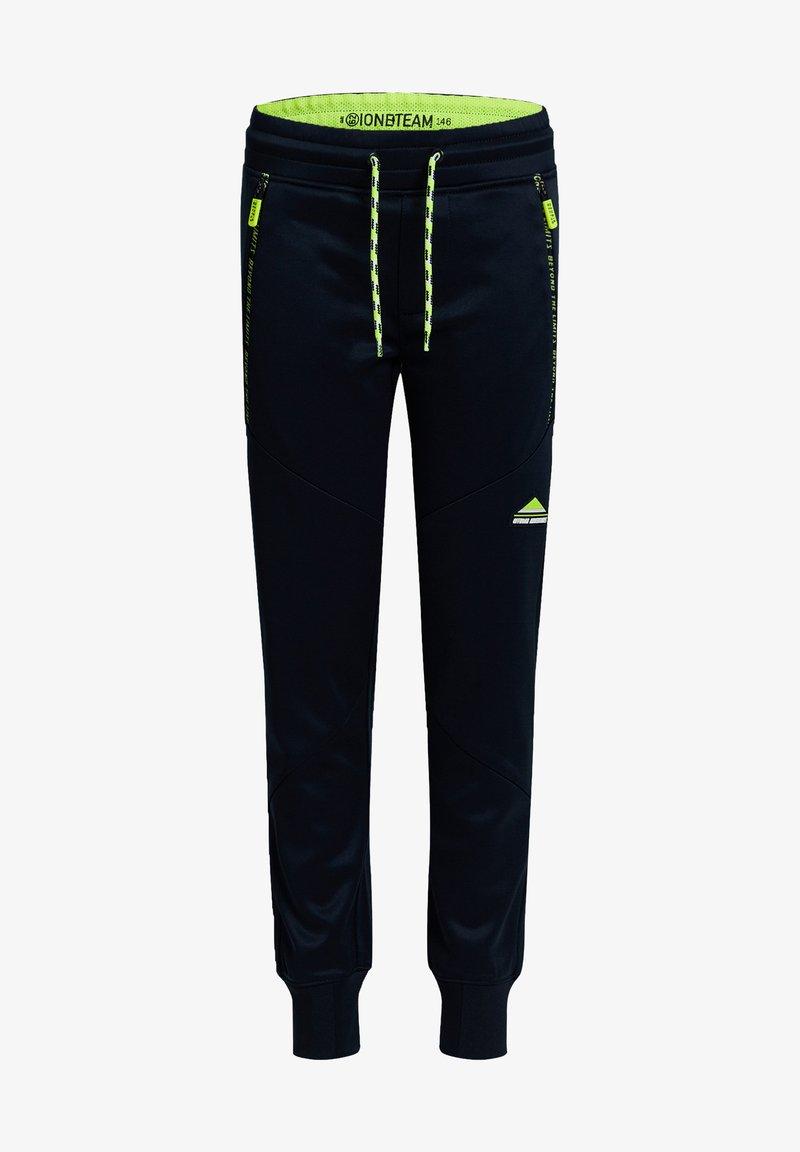WE Fashion - BIKERDETAILS - Tracksuit bottoms - dark blue
