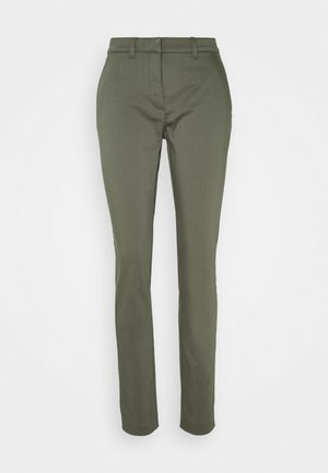 CLOHTILDE PANTS - Chinos - army green