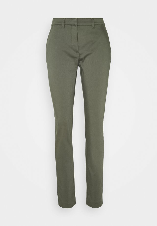 CLOHTILDE PANTS - Chino - army green