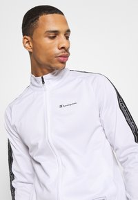 Champion - LEGACY TAPE TRACKSUIT SET - Chándal - white/black - 5