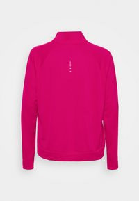 Nike Performance - RUN MIDLAYER PLUS - Sports shirt - fireberry/black - 1