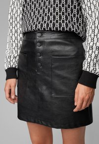 BOSS - BISARA - A-line skirt - black - 3