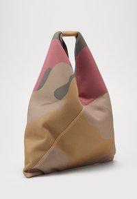 MM6 Maison Margiela - Shopping bag - beige/fuxia/yellow - 3