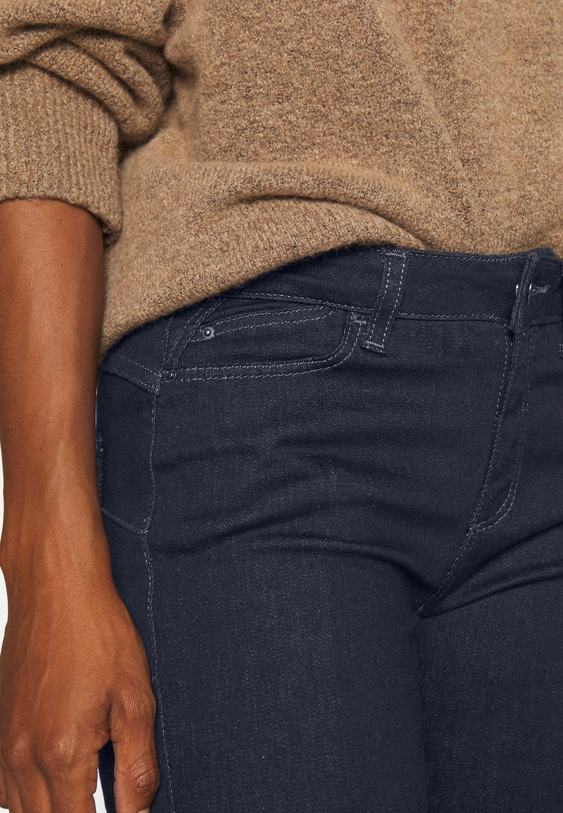 Esprit Jeans bootcut - blue dark wash