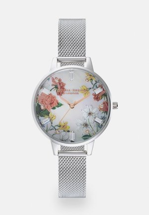 SPARKLE FLORAL - Watch - silver-coloured