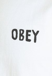 Obey Clothing - MASS SEDUCTION - Printtipaita - white - 2