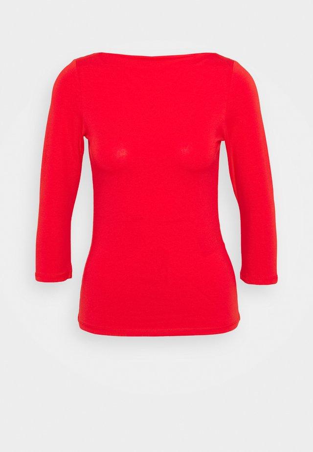 ONLLIVE LOVE BOATNECK - Pitkähihainen paita - high risk red