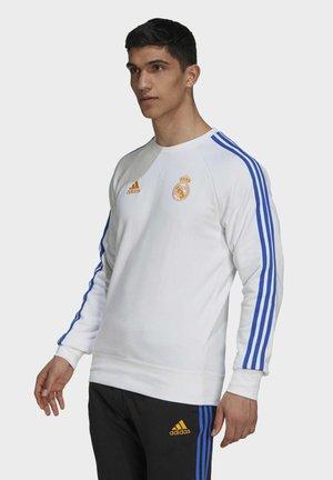 REAL MADRID SWT TOP - Klubbkläder - white