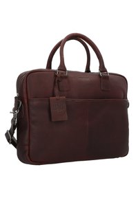 Burkely - ANTIQUE AVERY - Briefcase - brown - 3