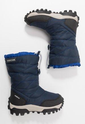 HIMALAYA BOY - Winter boots - navy/royal