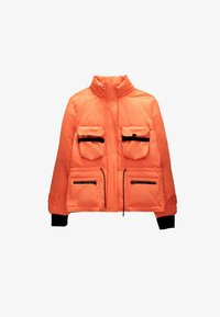 Uterqüe - Down jacket - orange - 5