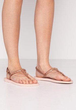 FREEDOM CHAINS - Sandaler m/ tåsplit - rose
