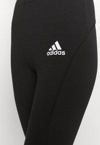 adidas Performance - ADIDAS SPORTSWEAR COLORBLOCK LEGGINGS - Medias - black - 3
