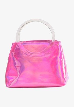 Handbag - pink holo