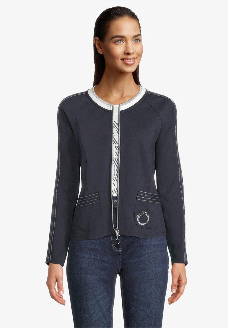 Betty Barclay - Zip-up sweatshirt - dunkelblau