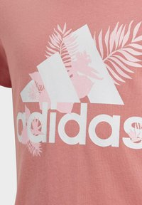 adidas Performance - TROPICAL SPORTS GRAPHIC T-SHIRT - Camiseta estampada - pink - 3