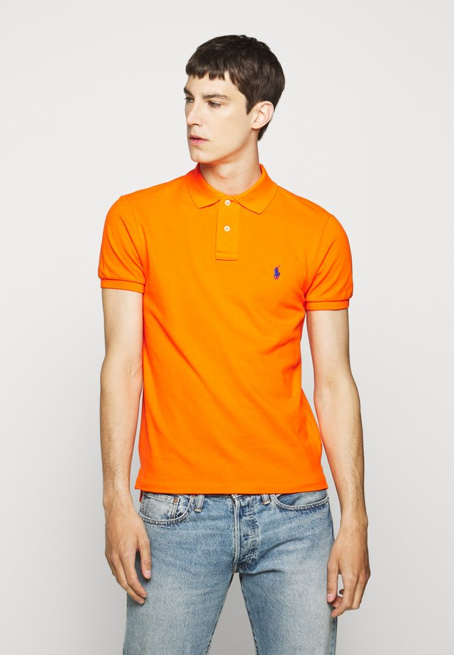 Polo shirt - sailing orange