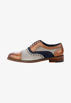 FABRIANO - Smart lace-ups - brown