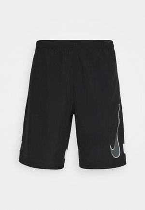 Sports shorts - black/white/iron grey